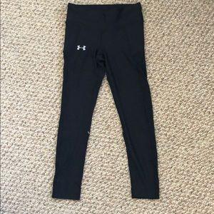 UA Black Run Legging Sz Small